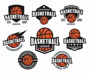 Free Basketball Logos Vector. American Style Vector Art ...