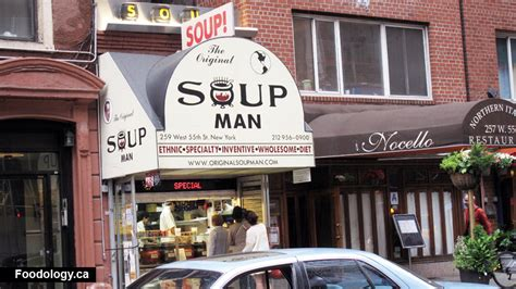 The Original Soup Man No Soup For You In New York  Foodology