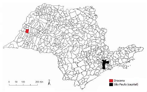 Mapa Político Do Estado De São Paulo Download Scientific