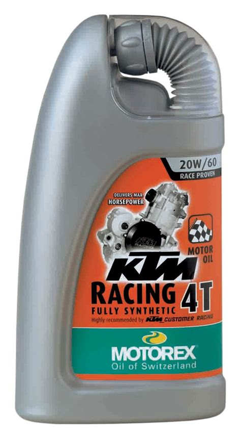 4t motocross gear motorex ktm racing 4t engine oil revzilla