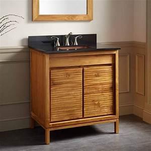 30, U0026quot, Becker, Teak, Vanity, For, Rectangular, Undermount, Sink