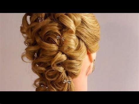 wedding prom hairstyles  long hair romantic bridal