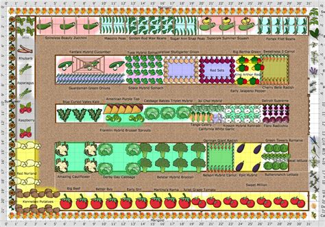 garden plan vegetable garden