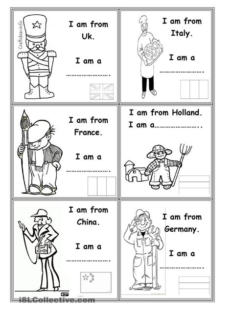 occupations  countries