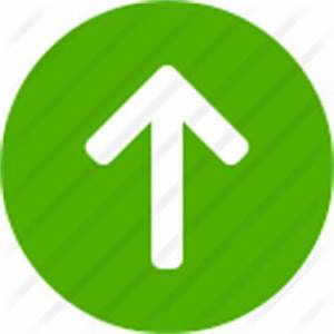Arrow, green, up icon | Icon search engine