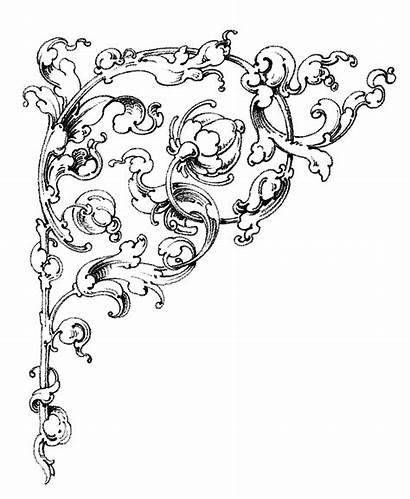 Clip Scrolls Romantic Graphics Dreamy Scroll Enlarge