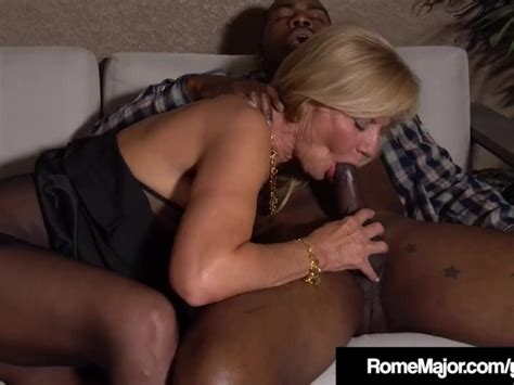 Mature Blonde Presley St Claire Wrecked By Bbc Rome Major