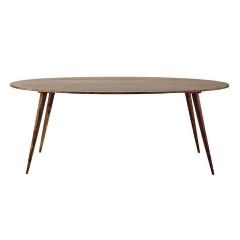nappe ovale maison du monde table ovale de salle 224 manger en bois de sheesham massif l 200 cm andersen maisons du monde