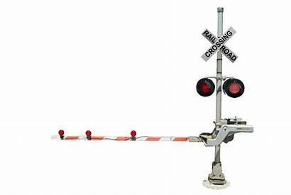 Train Clipart Crossing Railroad Barrier Cartoon Transparent