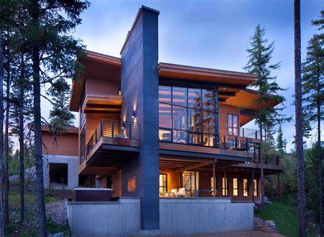 modern architecture home plans moderne maison rustique à l architecture et agencement