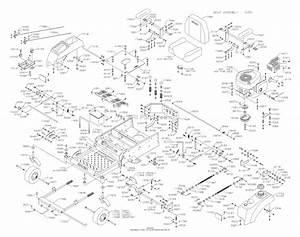 Dixon Ram 42  2005  Parts Diagram For Chassis
