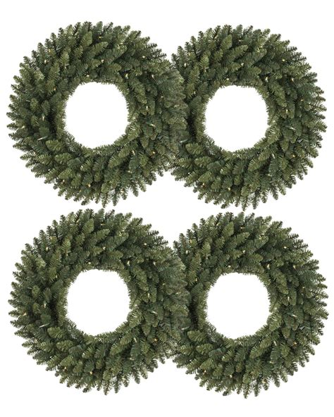balsam spruce artificial wreath and garland treetopia