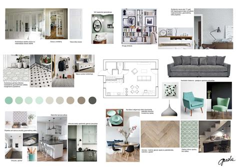 How To Design A Poster Board Presentation Interior Design Concepts Interior Designer Gerda Sutkienė