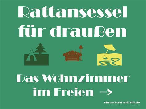 Rattansessel Für Draußen by Rattansessel F 252 R Drau 223 En Outdoor Ohrensessel G 252 Nstige
