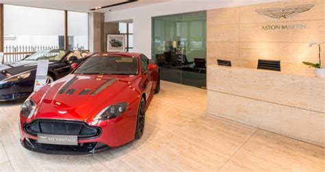 Stratstone Mayfair Is Top Aston Martin Dealership