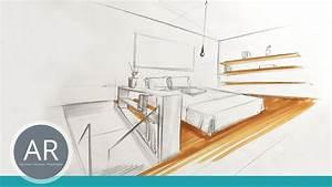 Zeichnen Am Pc Lernen : innenarchitektur skizzen r ume schnell zeichnen lernen mappenkurs innenarchitekur youtube ~ Markanthonyermac.com Haus und Dekorationen