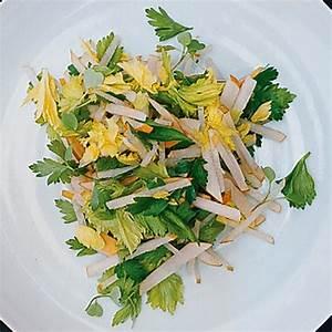 Parsley, Celery Leaf, and Jicama Salad recipe | Epicurious.com