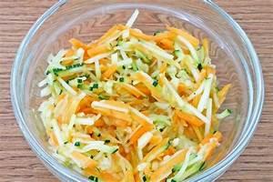 Rezept Für Karottensalat : zucchini karotten salat rezept ~ Lizthompson.info Haus und Dekorationen