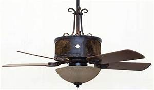 Copper canyon old forge ceiling fan rustic lighting and fans