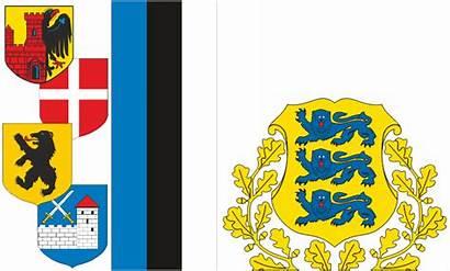 Estland Heraldik Kollektion Vektorgrafiken Cd
