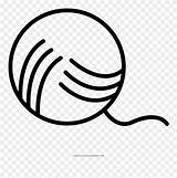 Yarn Coloring Ball Circle Clipart Pinclipart Colouring sketch template
