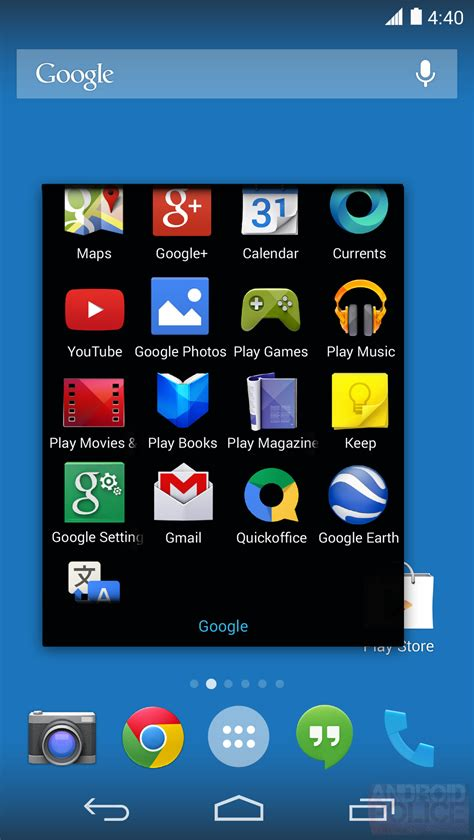 Android 4.4 to Pack New Launcher Called Google Experience