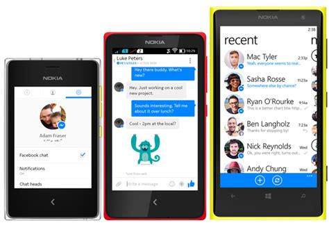messenger now available for nokia x nokia asha and nokia lumia devices