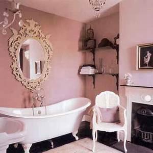 Stylish bathroom decorating ideas soft pink walls for Pink and cream bathroom