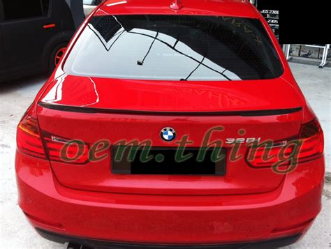 Sport Emblem Stickers & Painted Bmw F30 Performance Trunk