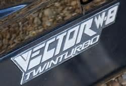 vector w8 twinturbo 1989 1992 collector