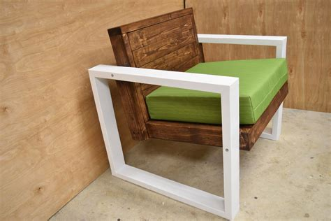 diy modern chair  steps  pictures