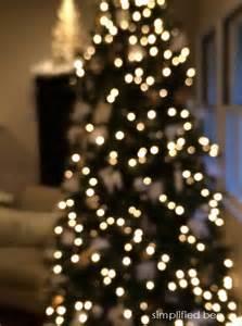 twinkle light christmas tree simplified bee simplified bee