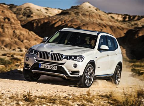 2018 Bmw X3 Facelift Debuts Updated 140kw 20d Engine