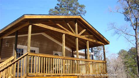 affordable porch design ideas porch designs  mobile homes