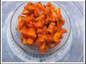 "Kerala Style ""Mango Pickle"" | ""Kaduku Manga Achaar"" - YouTube"