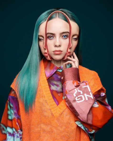 Billie Eilish by Takashi Murakami (Garage Magazine)