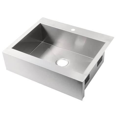 kohler stainless steel sink and faucet package kohler vault farmhouse apron front stainless steel 30 in