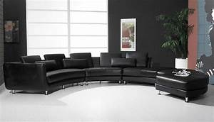 modern round leather sectional sofa a94 leather sectionals With round sectional sofa set manufacturers