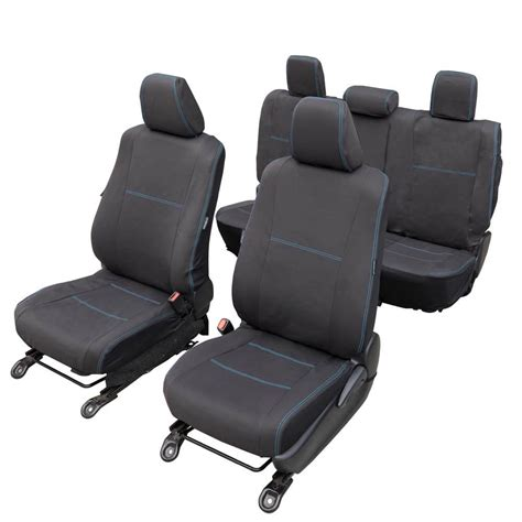 Neoprene Boat Seat Covers by Mitsubishi Triton Ute 2015 Current Seat Covers