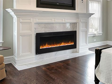 electric wall fireplace napoleon 60 quot wall mount electric fireplace