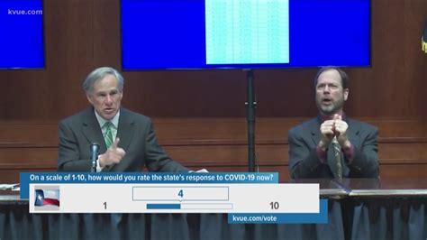 Coronavirus in Texas: Gov. Abbott gives update on COVID-19 ...