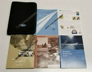 2005 Ford Escape Owners Manual Guide S Xlt Limited Xls