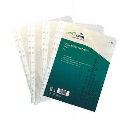 Sheet Pockets Clear Protectors Punch Multi Dividers