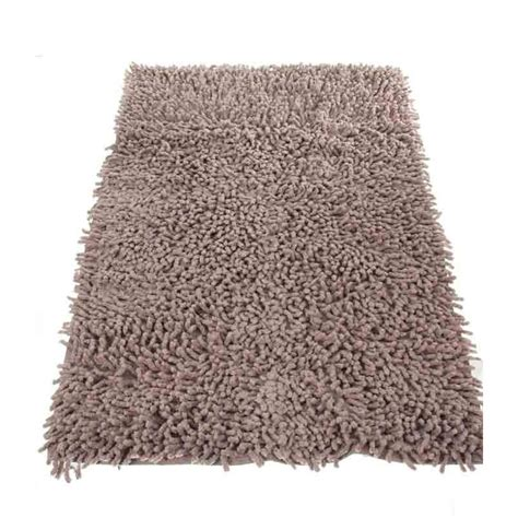 tapis de salle de bain 50x80cm taupe