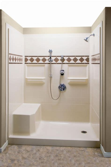 shower tub insert shower inserts with seat corner shower kits ideas about