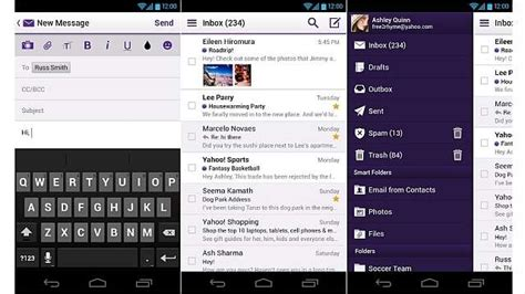 yahoo mail app for android the updated version of yahoo mail app is now available