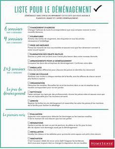 To Do List Déménagement : liste de contr le pour d m nager demenagement astuces et appartements ~ Melissatoandfro.com Idées de Décoration