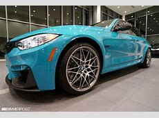 BMW M3 Finished In Miami Blue Porsche Looks Delicious