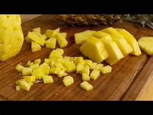 Ananas Schneiden Gerät : ananas richtig schneiden mit dieser technik ganz einfach youtube ~ Watch28wear.com Haus und Dekorationen