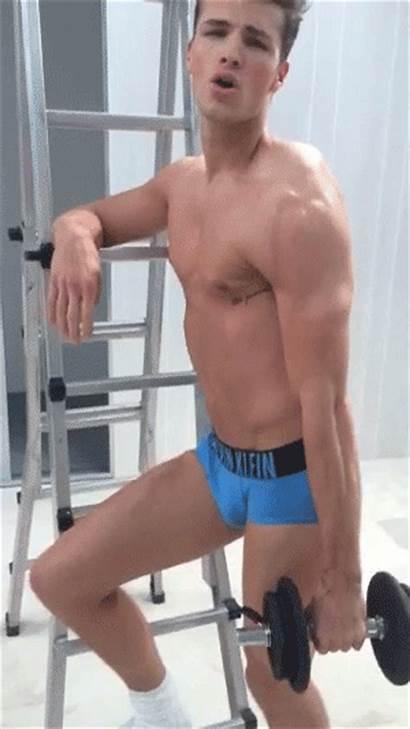 Klein Calvin Workout Gym Underwear Giphy Gifs
